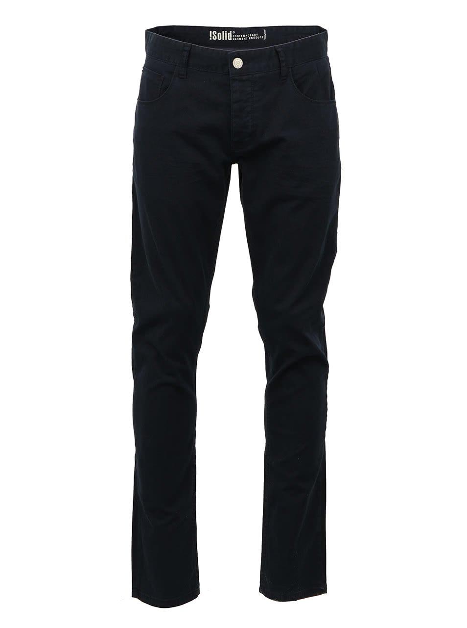 Tmavě modré kalhoty !Solid Joy