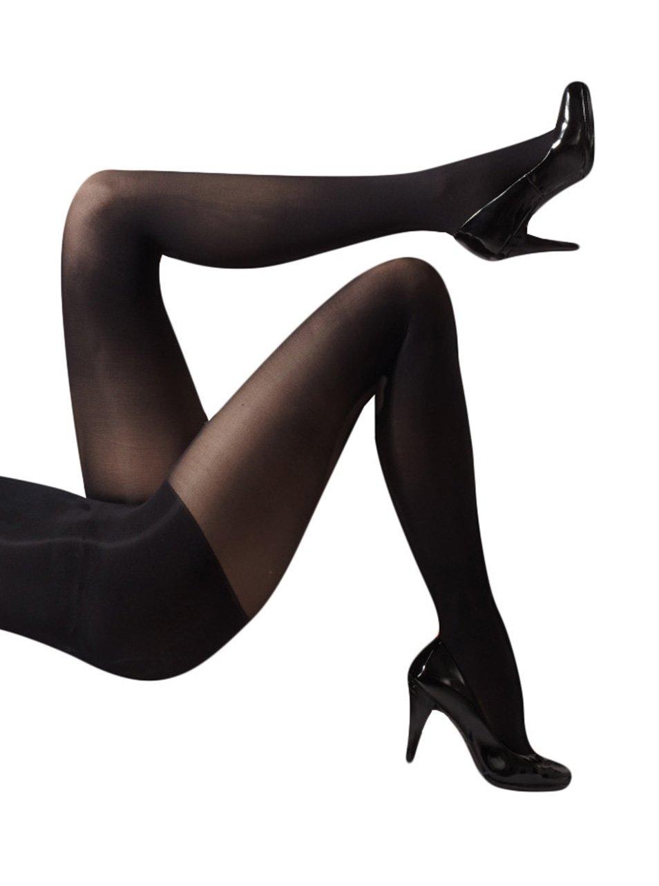 Černé zeštíhlující punčochové kalhoty Gipsy Comfort Shaper