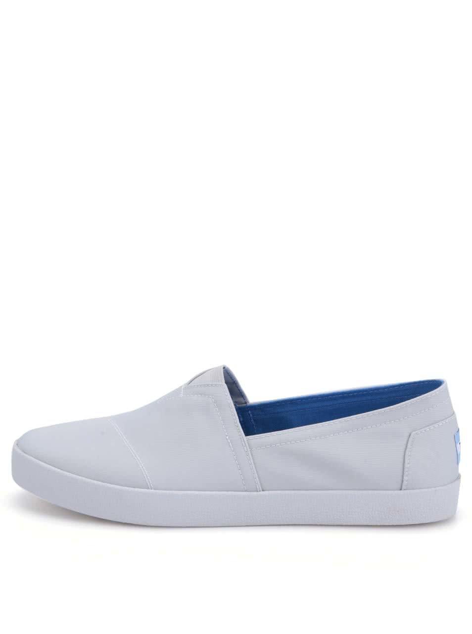 Světle šedé pánské loafers TOMS Ava