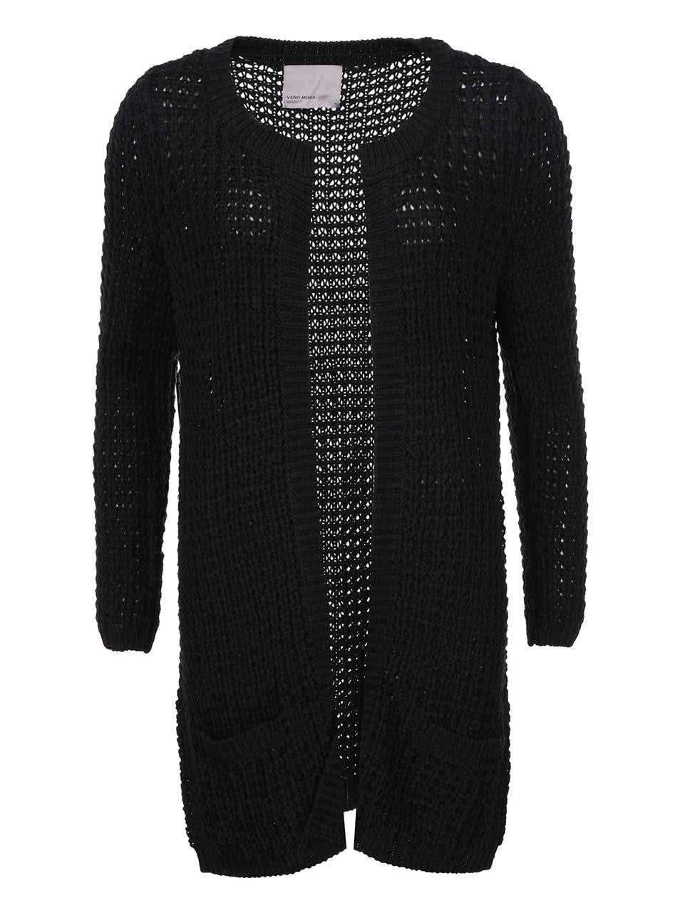 Černý cardigan Vero Moda Cozy