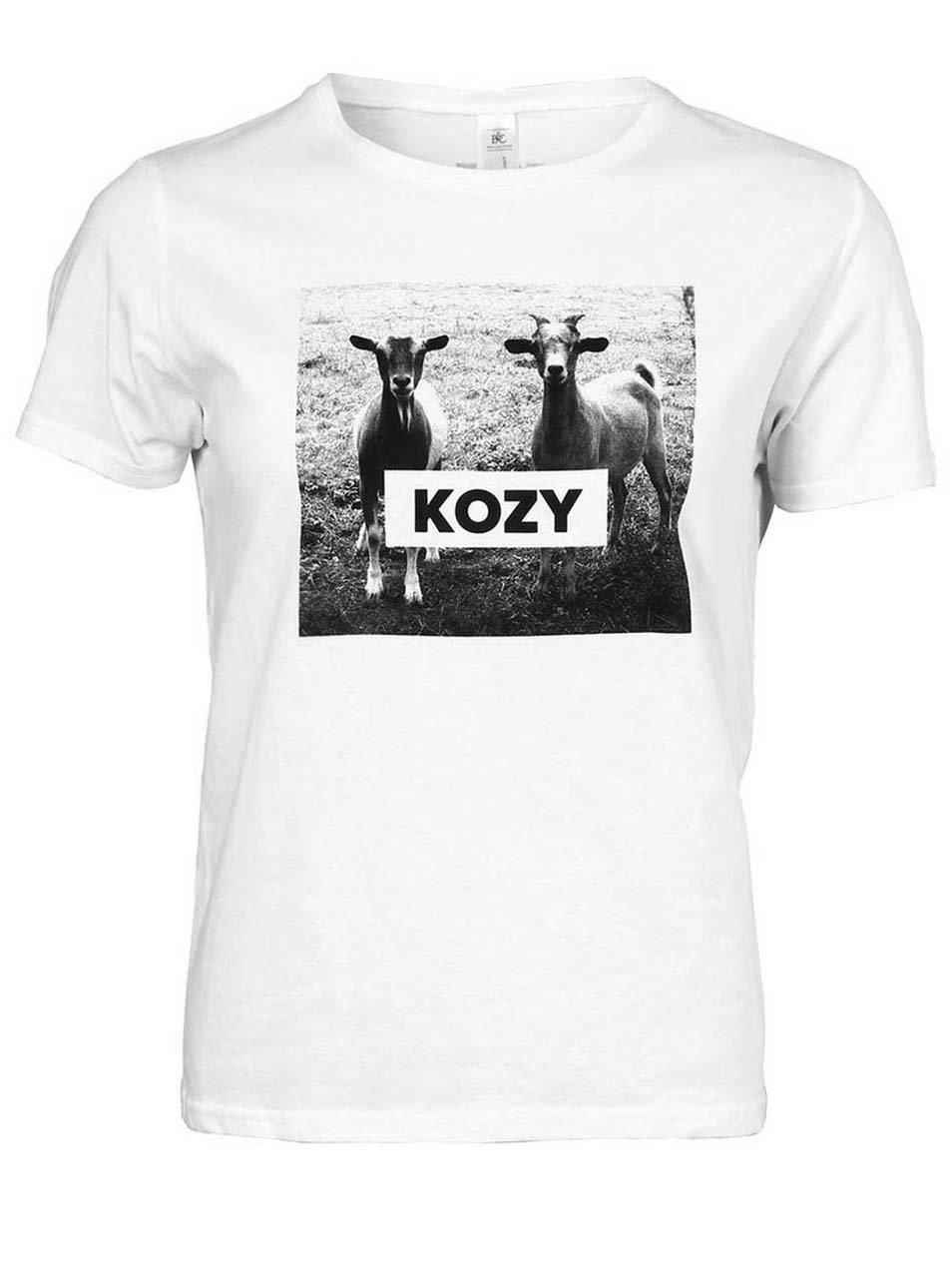 Bílé dámské tričko ZOOT Originál KOZY