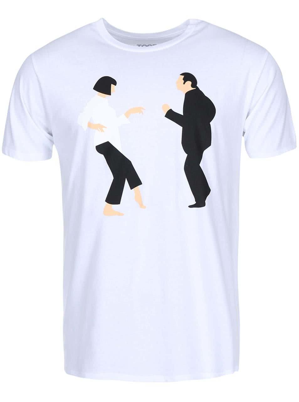 Bílé pánské tričko ZOOT Originál Pulp Fiction