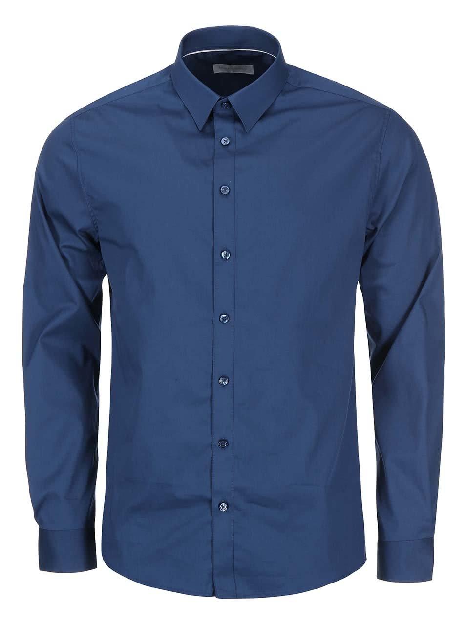 Modrá košile Tailored & Originals Paris