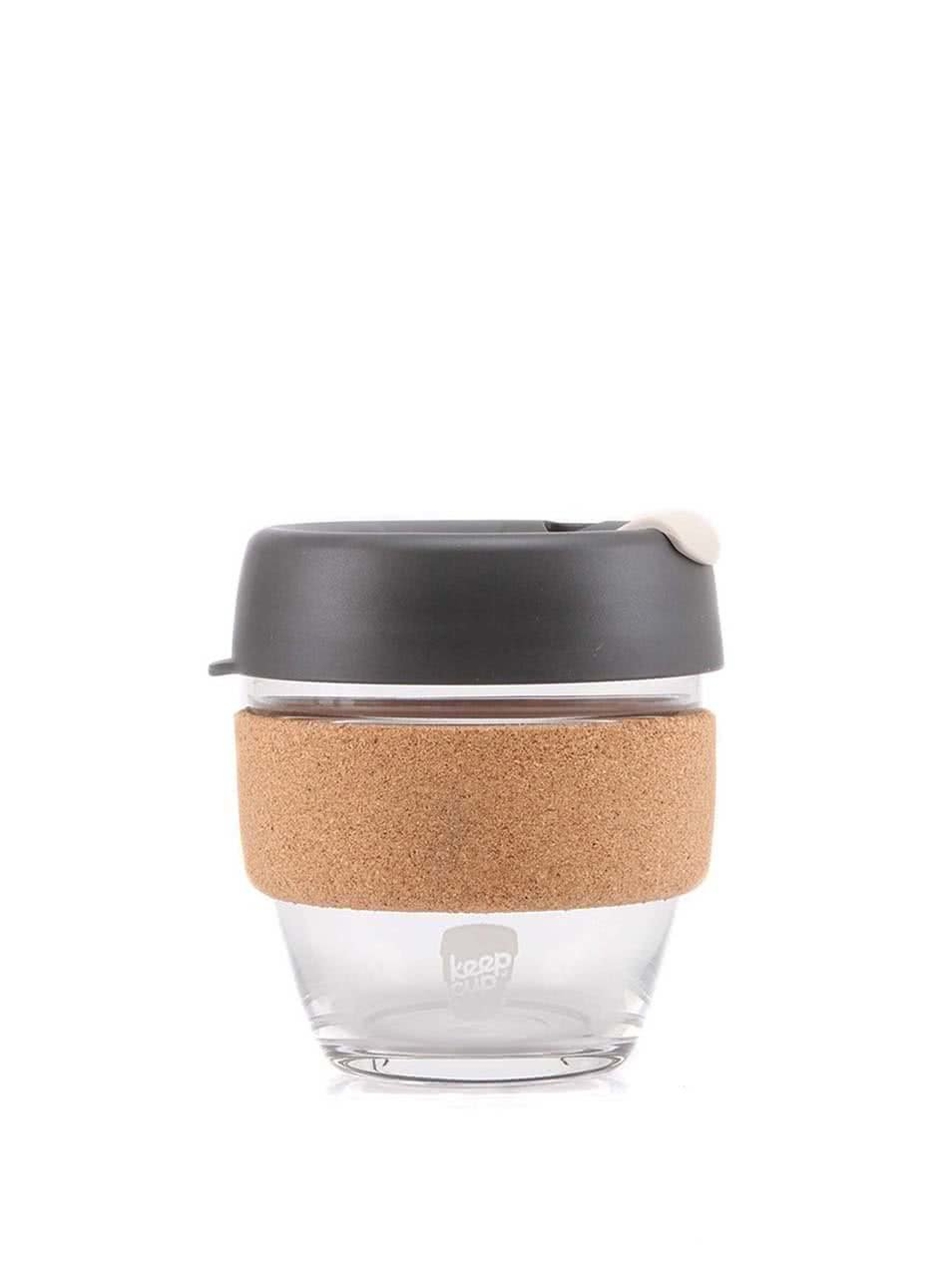 Designov� cestovn� sklen?n� hrnek KeepCup Brew Press Small