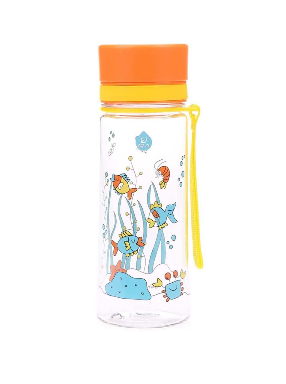 Plastová láhev s rybkami EQUA (400 ml)