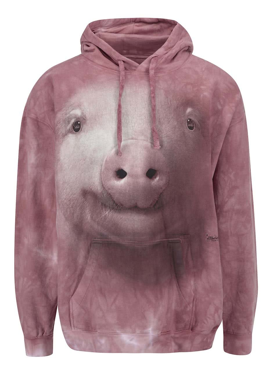 Unisex mikina The Mountain Pig