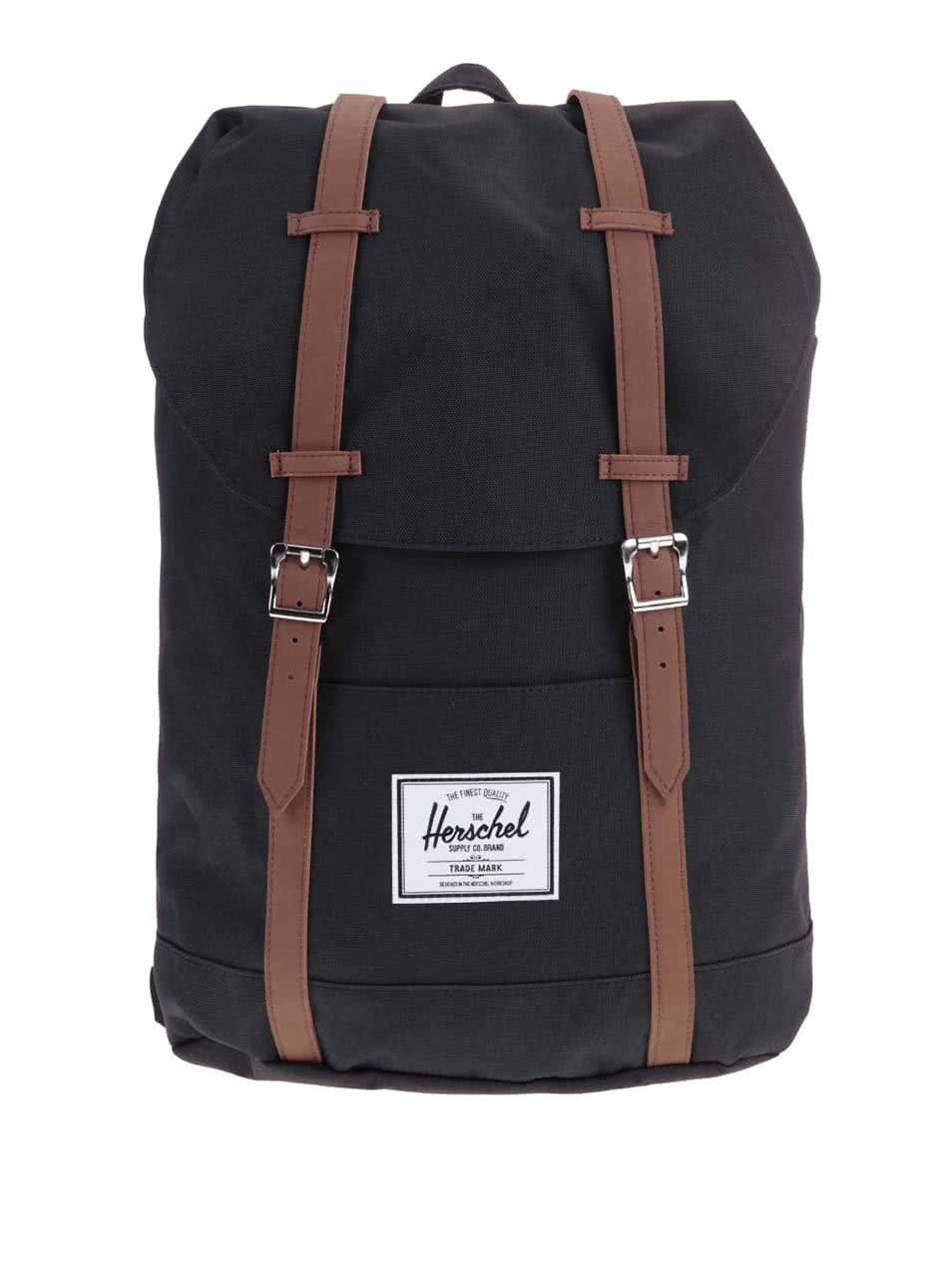 Černý velký batoh Herschel Retreat
