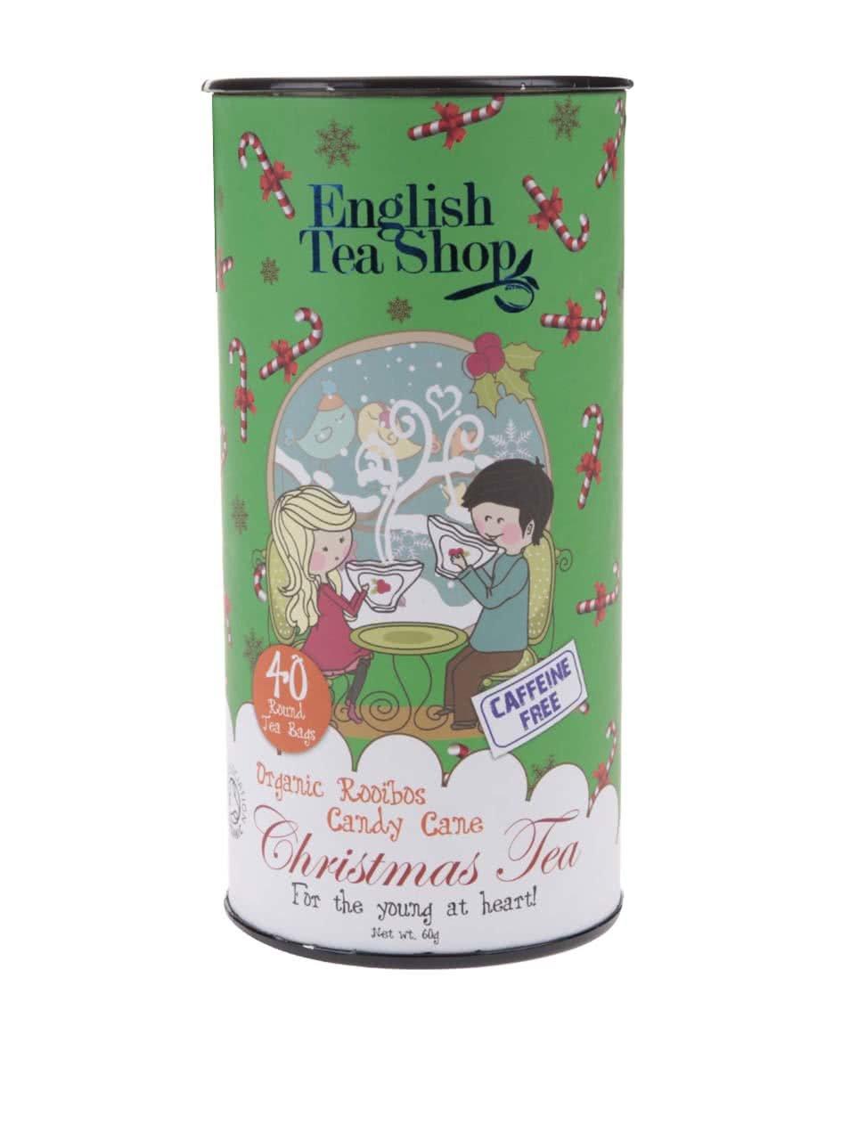 Bezkofeinový čaj English Tea Shop Cukroví