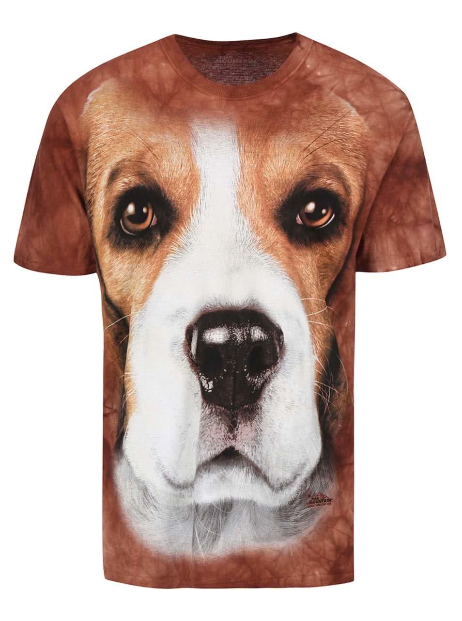 Unisex triko The Mountain Beagle