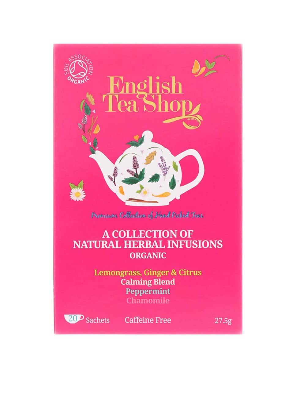 Mix bylinných čajů English Tea Shop Bio