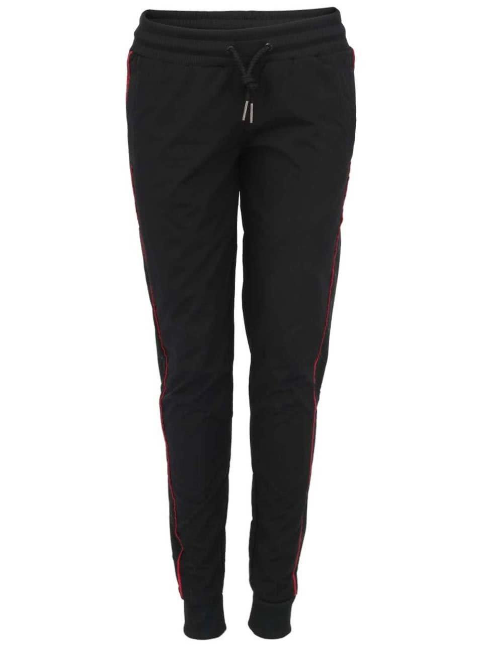 Černé dámské šusťákové tepláky Voi Jeans Lady Exceleyj