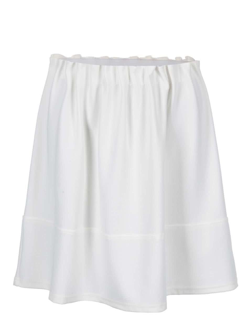 Krémová sukně Vero Moda Tuline