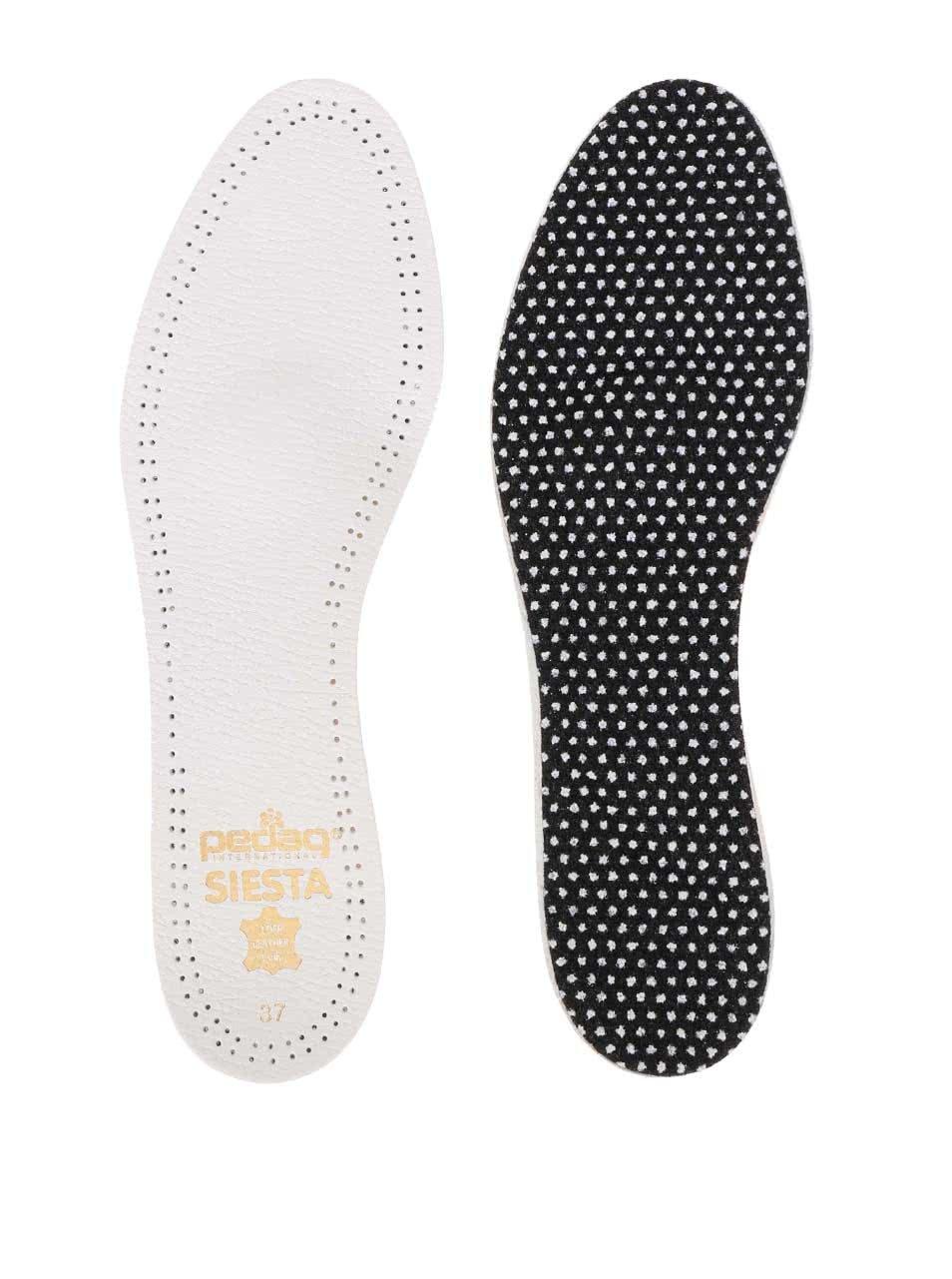 Bílé dámské vložky do bot pedag