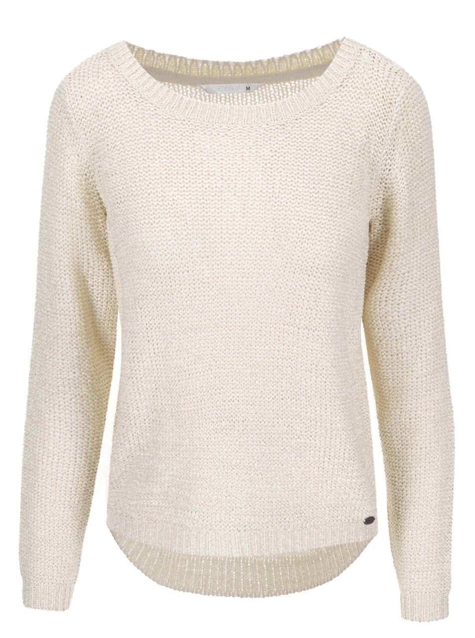 Béžový pletený svetr ONLY Geena