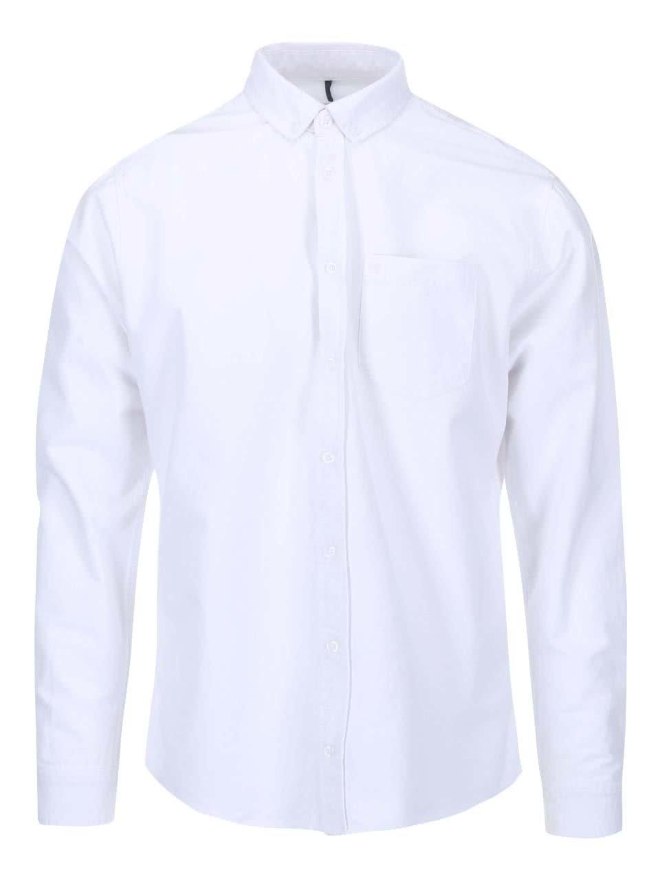 Bílá košile Blend Regular Fit