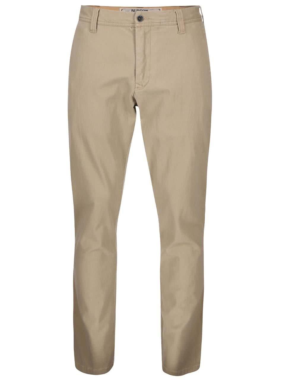 Béžové pánské kalhoty Burton Sawyer
