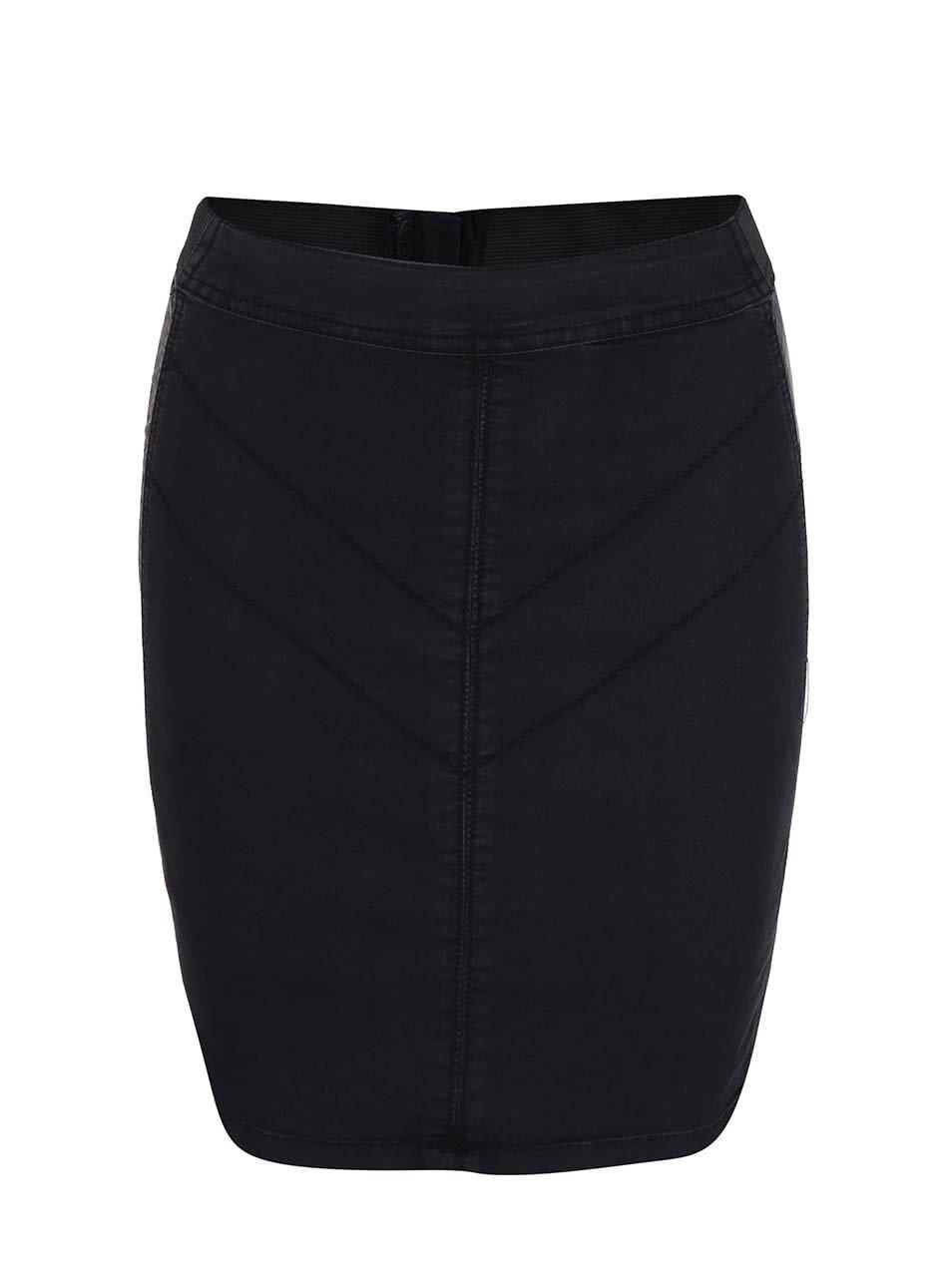 Černá pouzdrová sukně Desires Tino