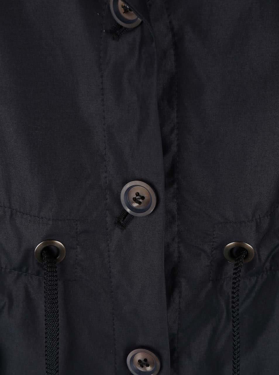 Černý dámský kratší kabát bugatti