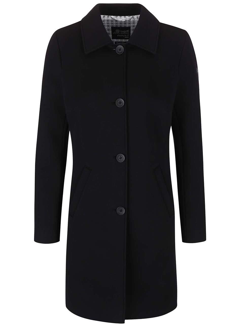 Černý dámský kabát bugatti
