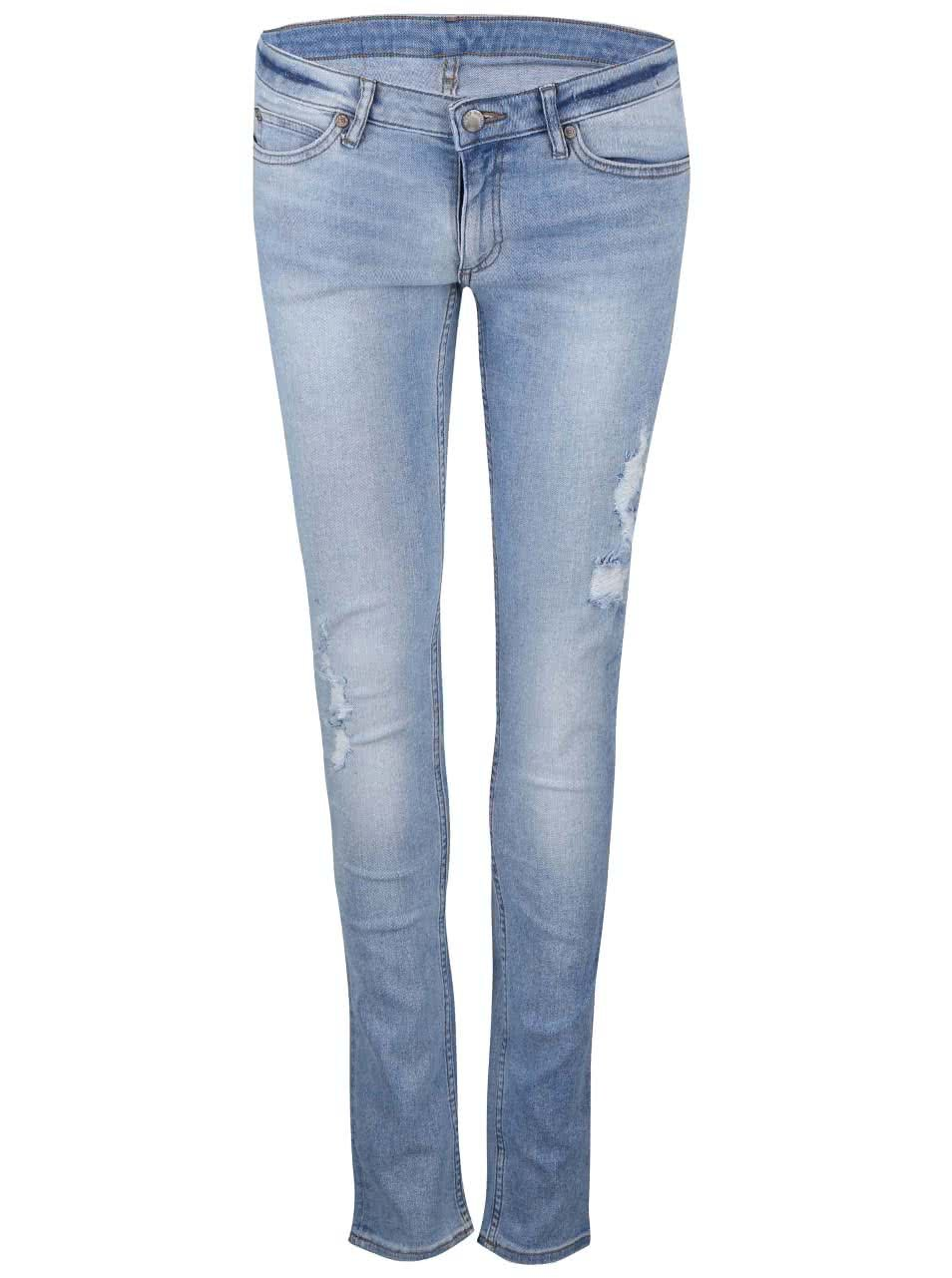 Světle modré dámské úzké džíny Cheap Monday