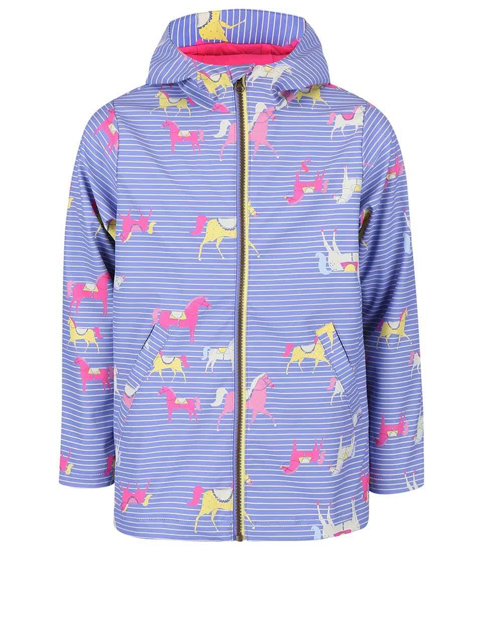 Světle fialová holčičí nepromokavá bunda Tom Joule