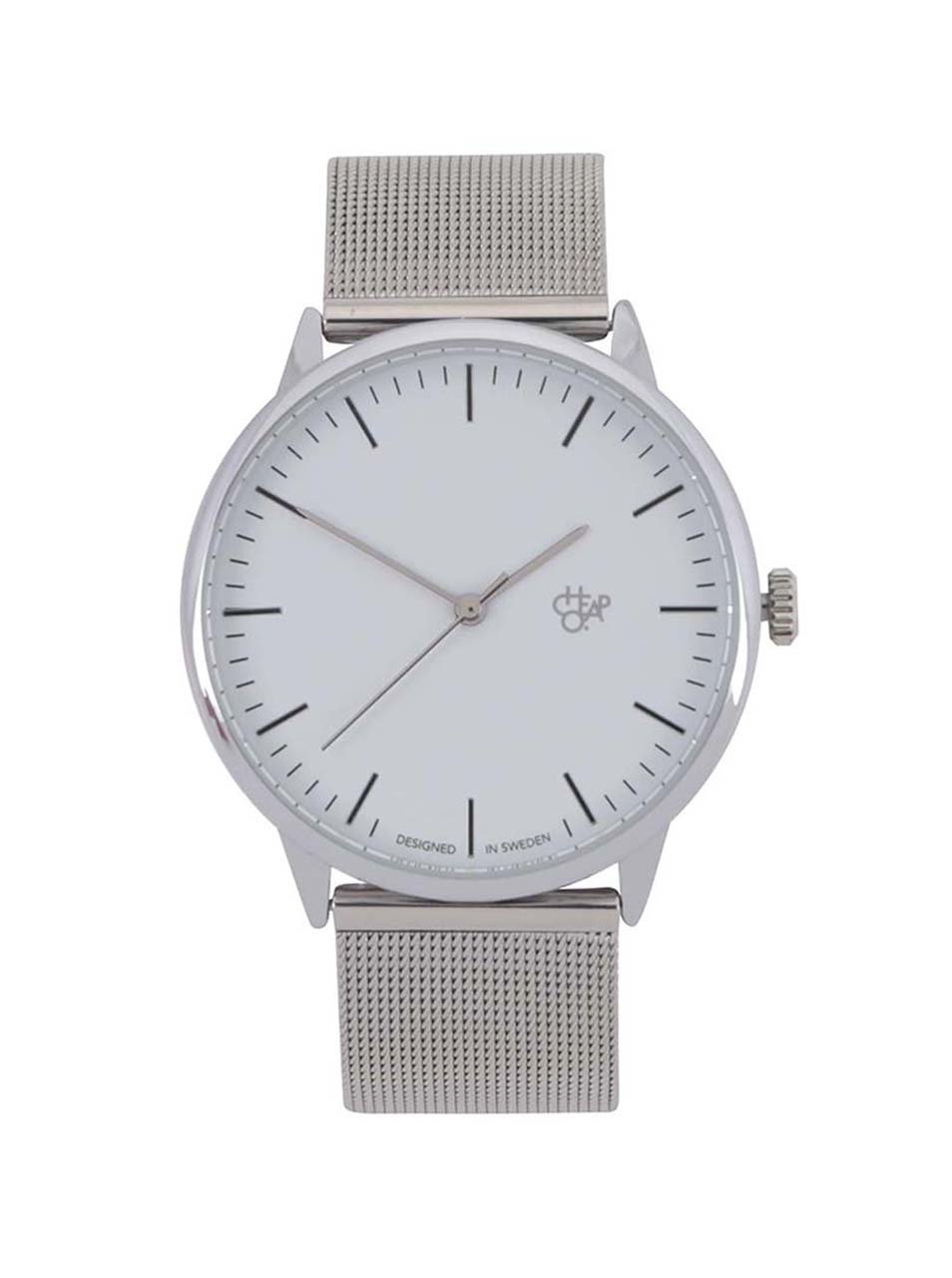 6d87f8942 Dámské hodinky ve stříbrné barvě CHPO Nando Mini Silver - SLEVA ...