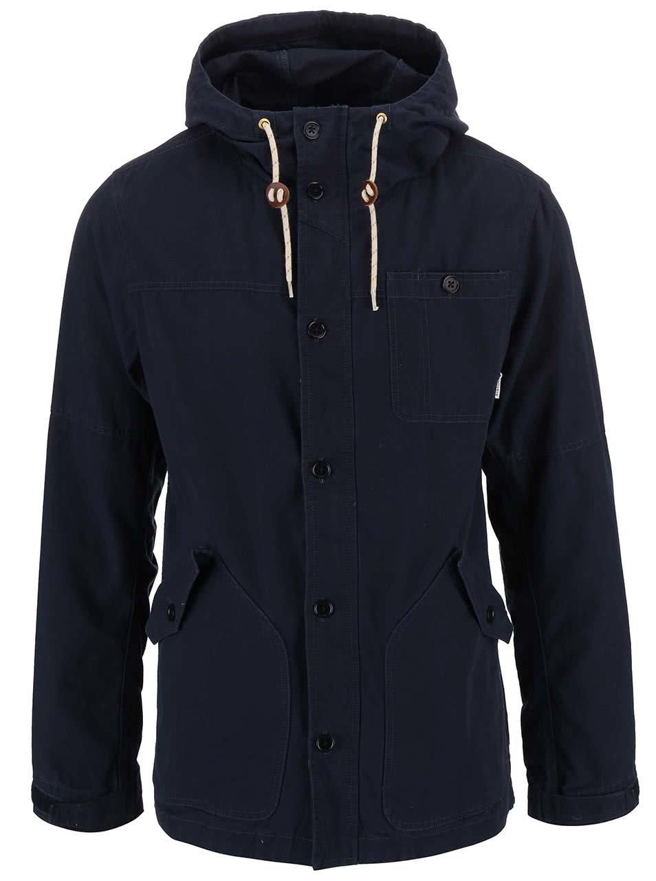 Tmavě modrá pánská bunda Burton Marin
