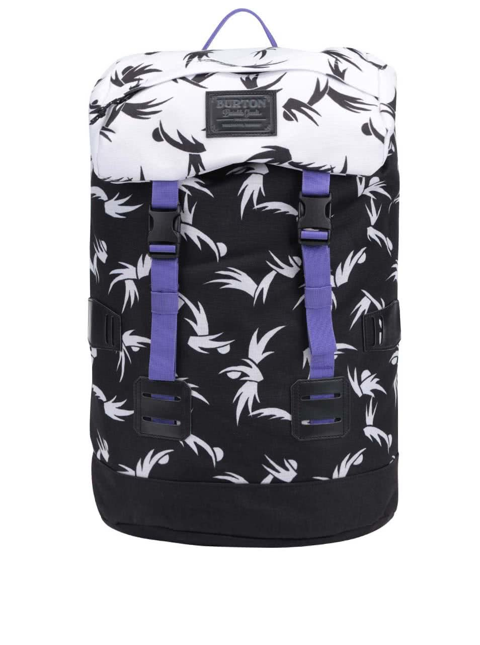Bílo-černý batoh Burton WMS Tinder