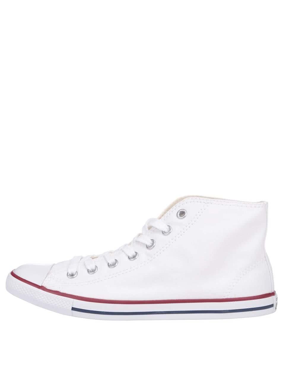 Bílé dámské kotníčkové tenisky Converse Chuck Taylor All Star Dainty