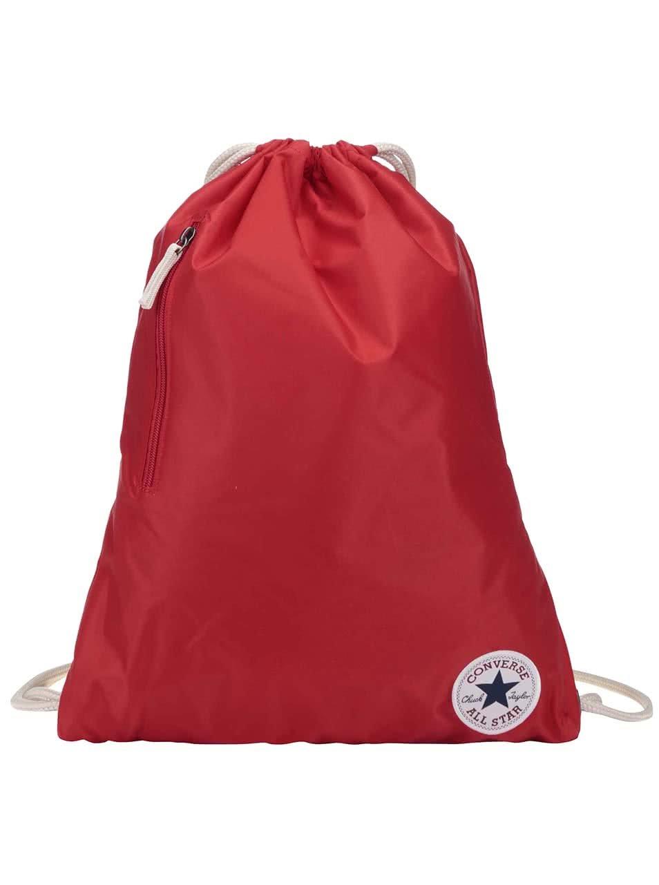 Červený vak Converse Nylon Cinch
