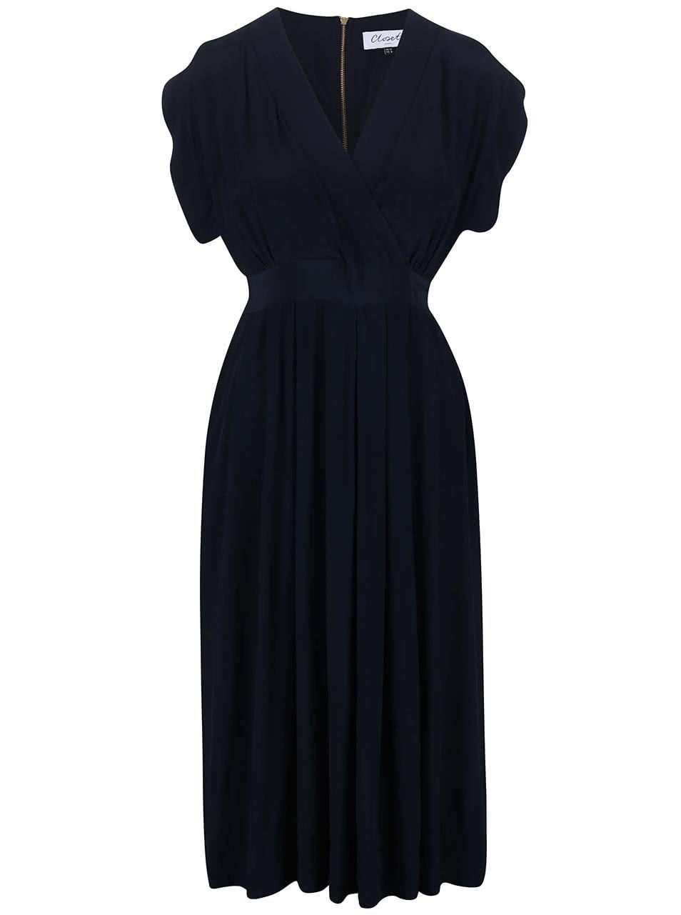 Tmavě modré šaty Closet