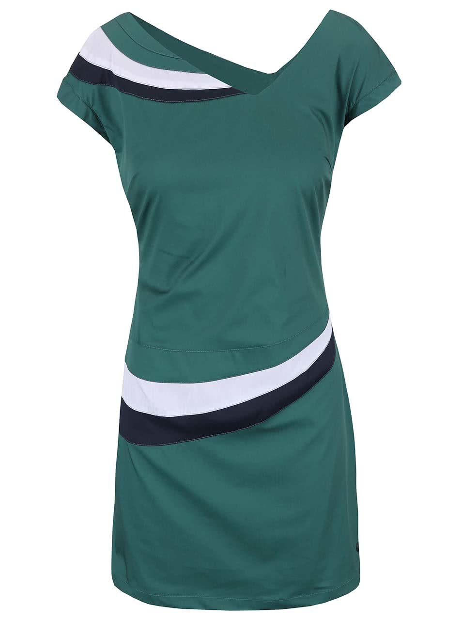 Tmavě zelené šaty Skunkfunk Gaiarre
