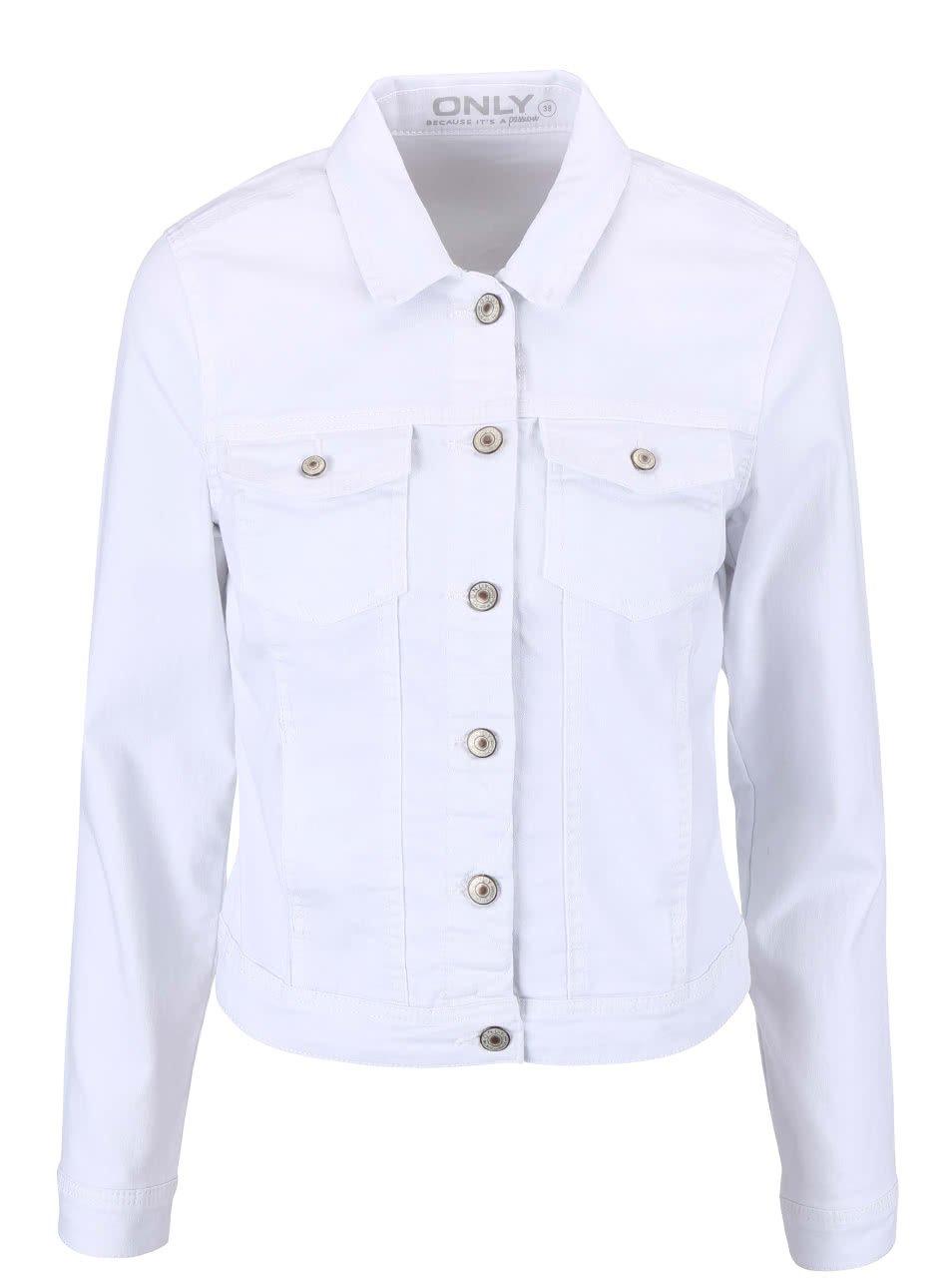 Bílá džínová bunda ONLY New