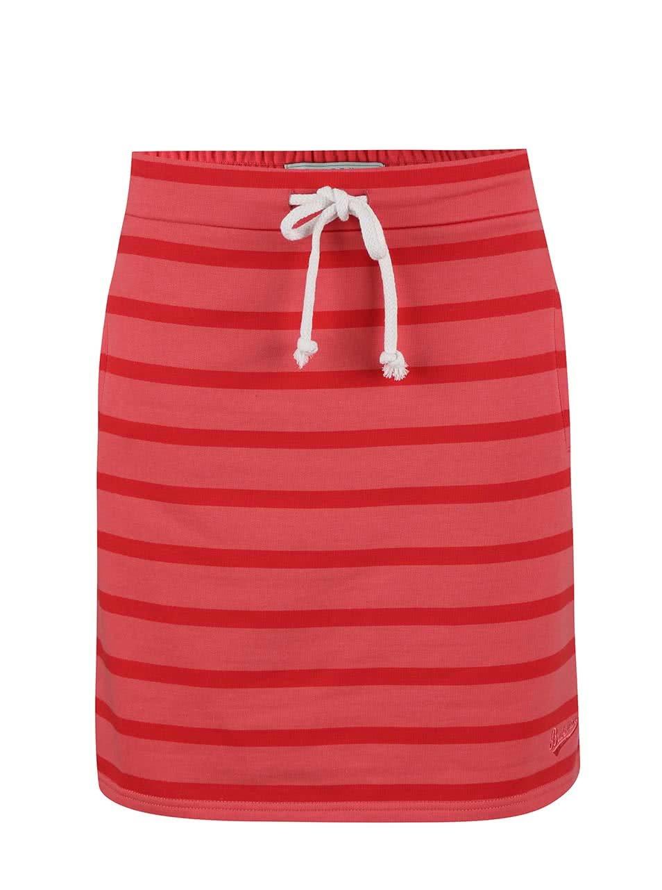 Růžová pruhovaná sukně Brakeburn Stripe