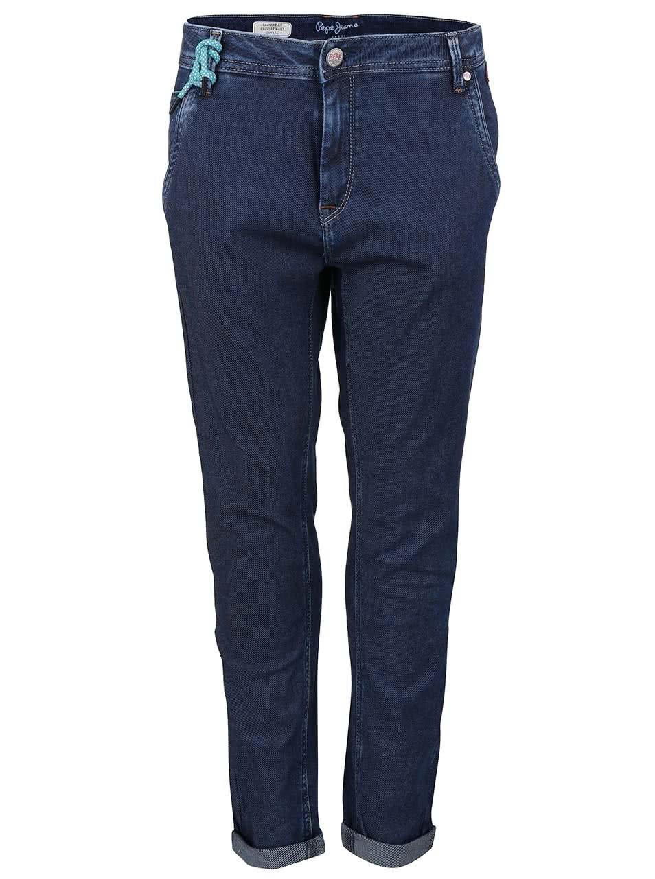 Modré dámské džíny Pepe Jeans Flow Low