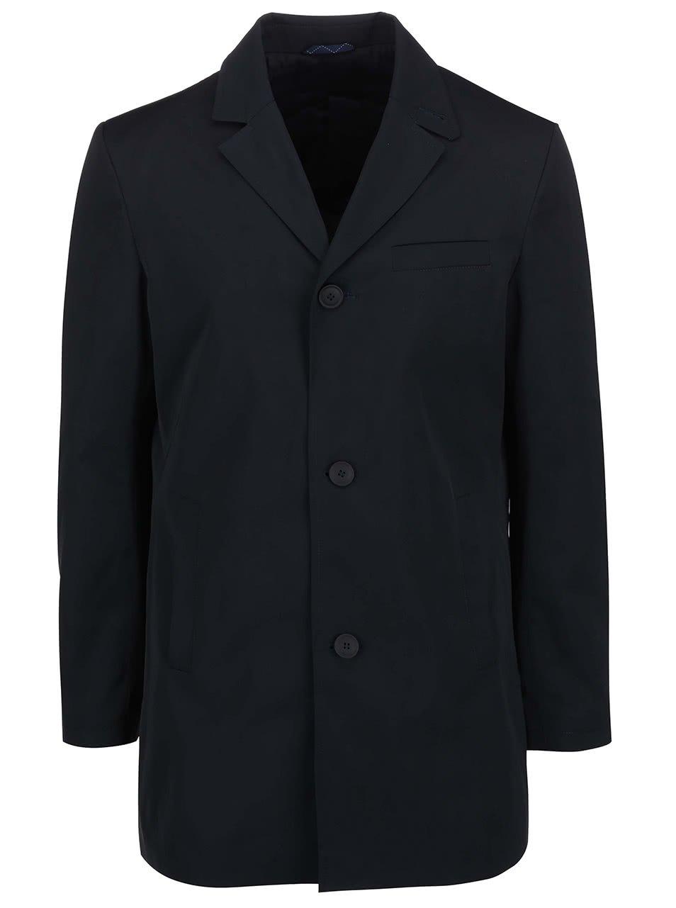 Tmavě modrý kabát Bertoni Lahti