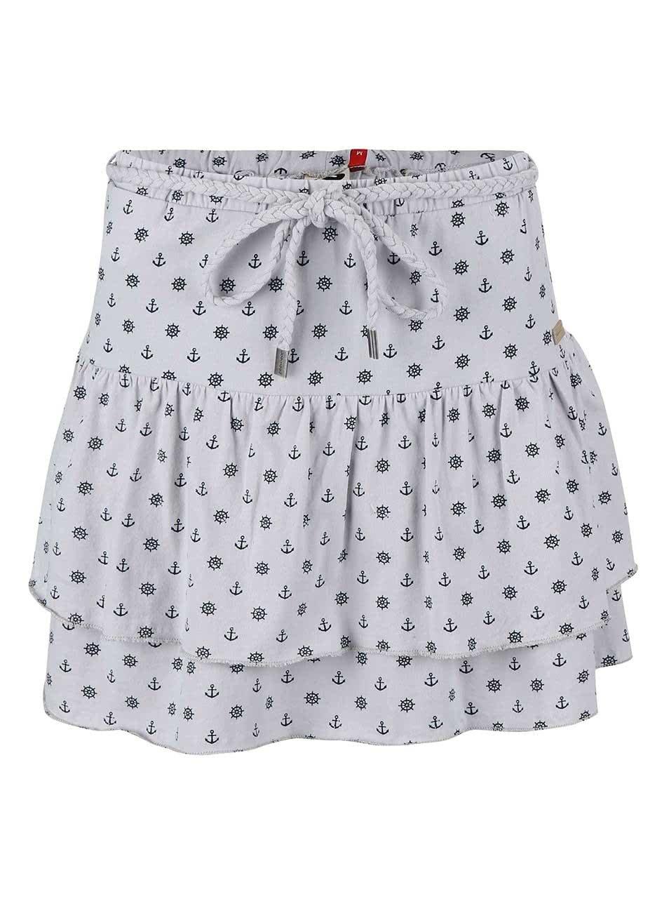 Šedá vzorovaná sukně Ragwear Princess