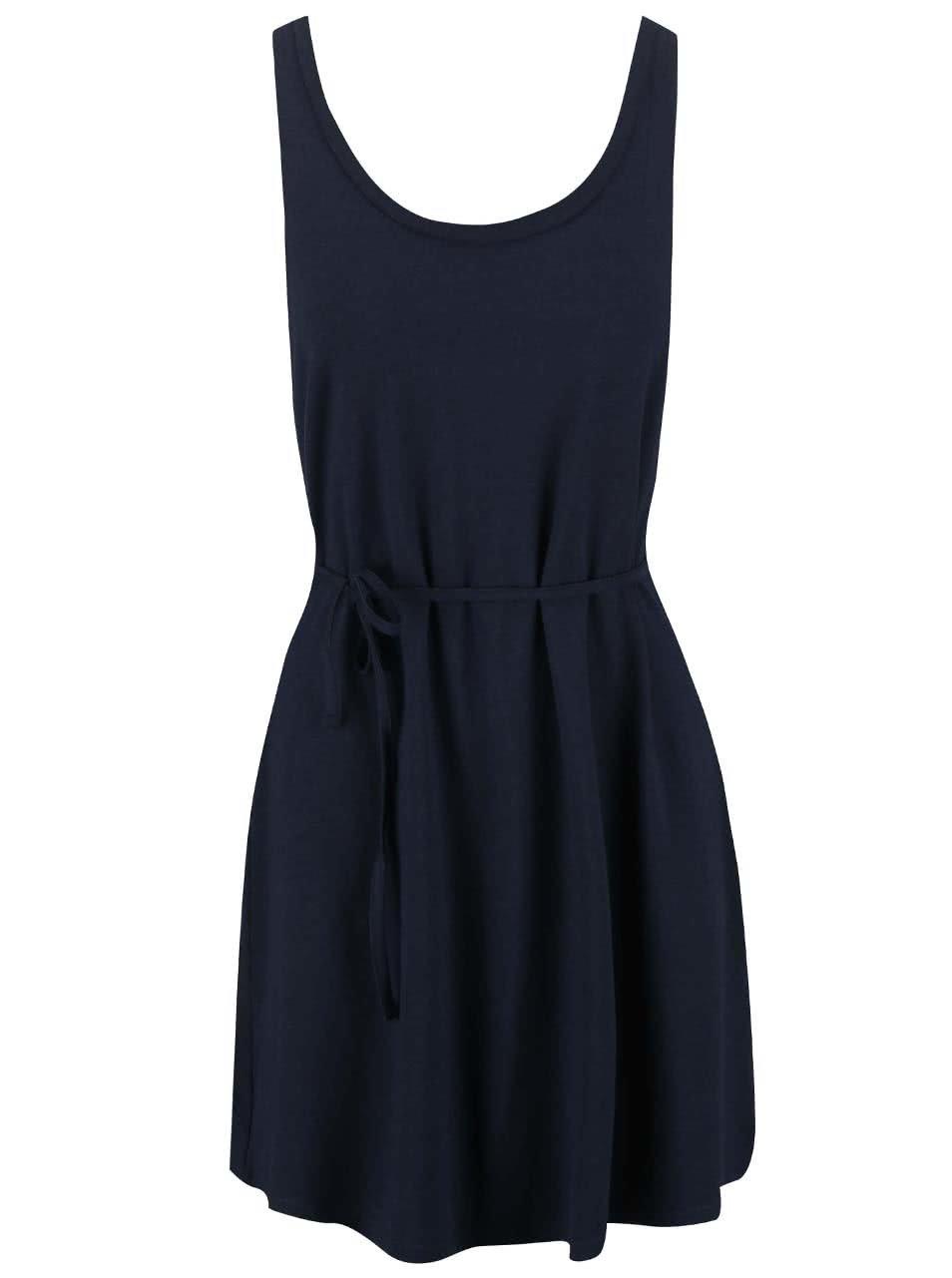 Tmavě modré šaty VILA Honesty