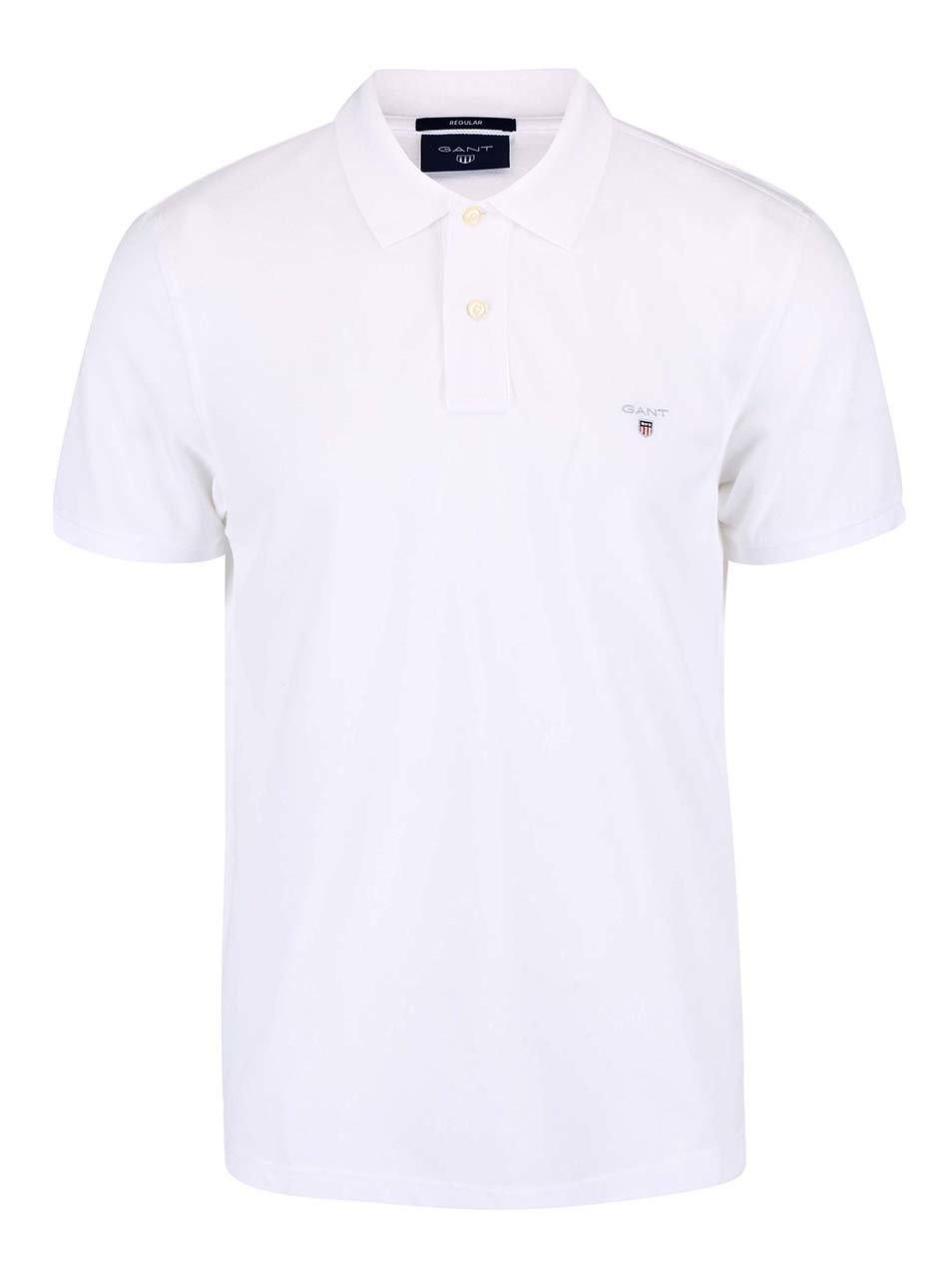 Bílé pánské polo triko GANT Original Pique