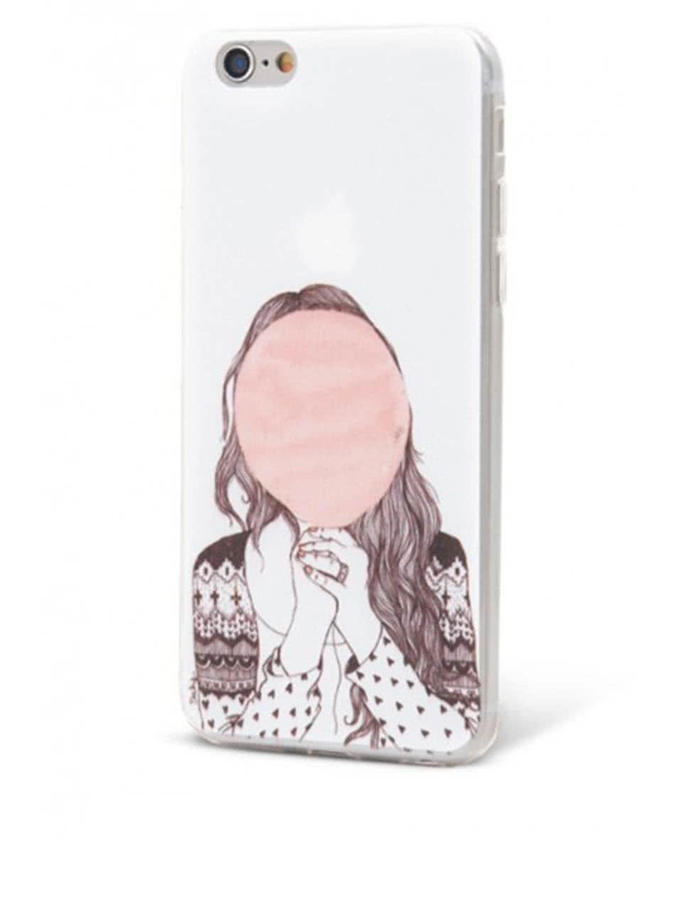 Krémový ochranný kryt na iPhone 6/6S Plus Epico Hiding