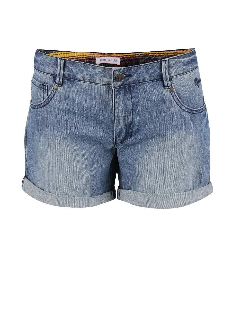 Modré dámské džínové kraťasy Rip Curl Cholla