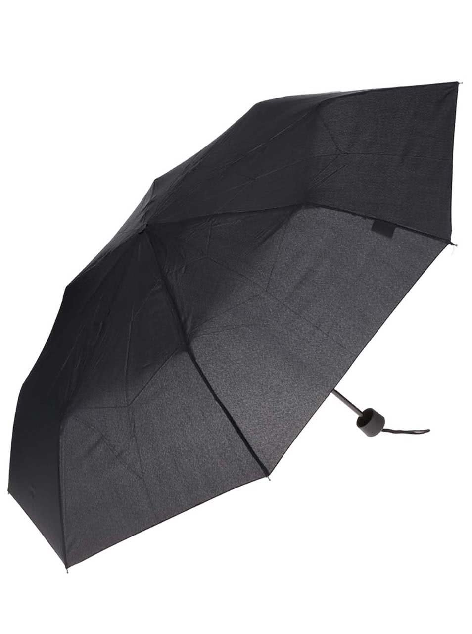 Černý pánský skládací deštník Derby