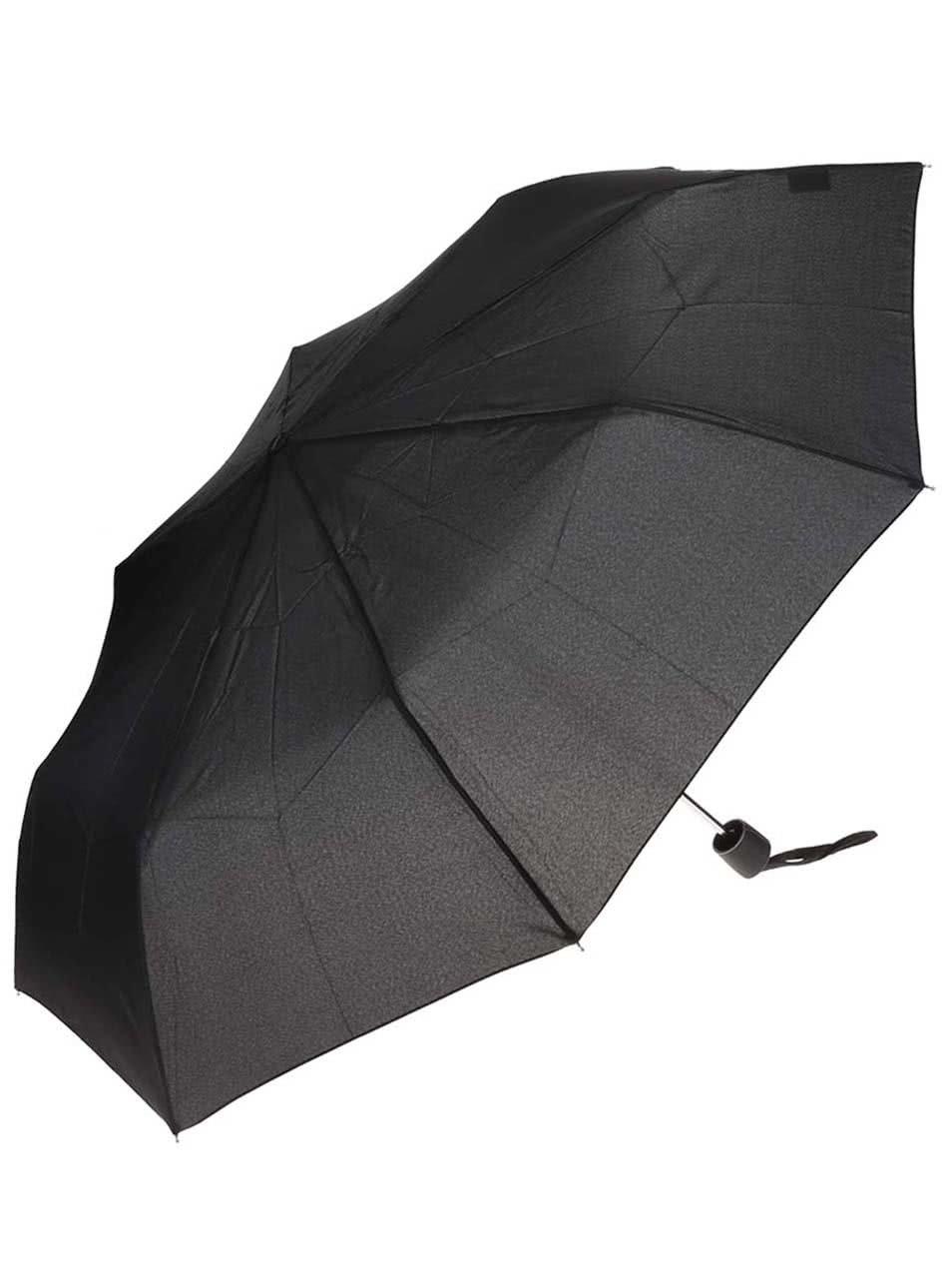 Černý pánský skládací deštník Doppler
