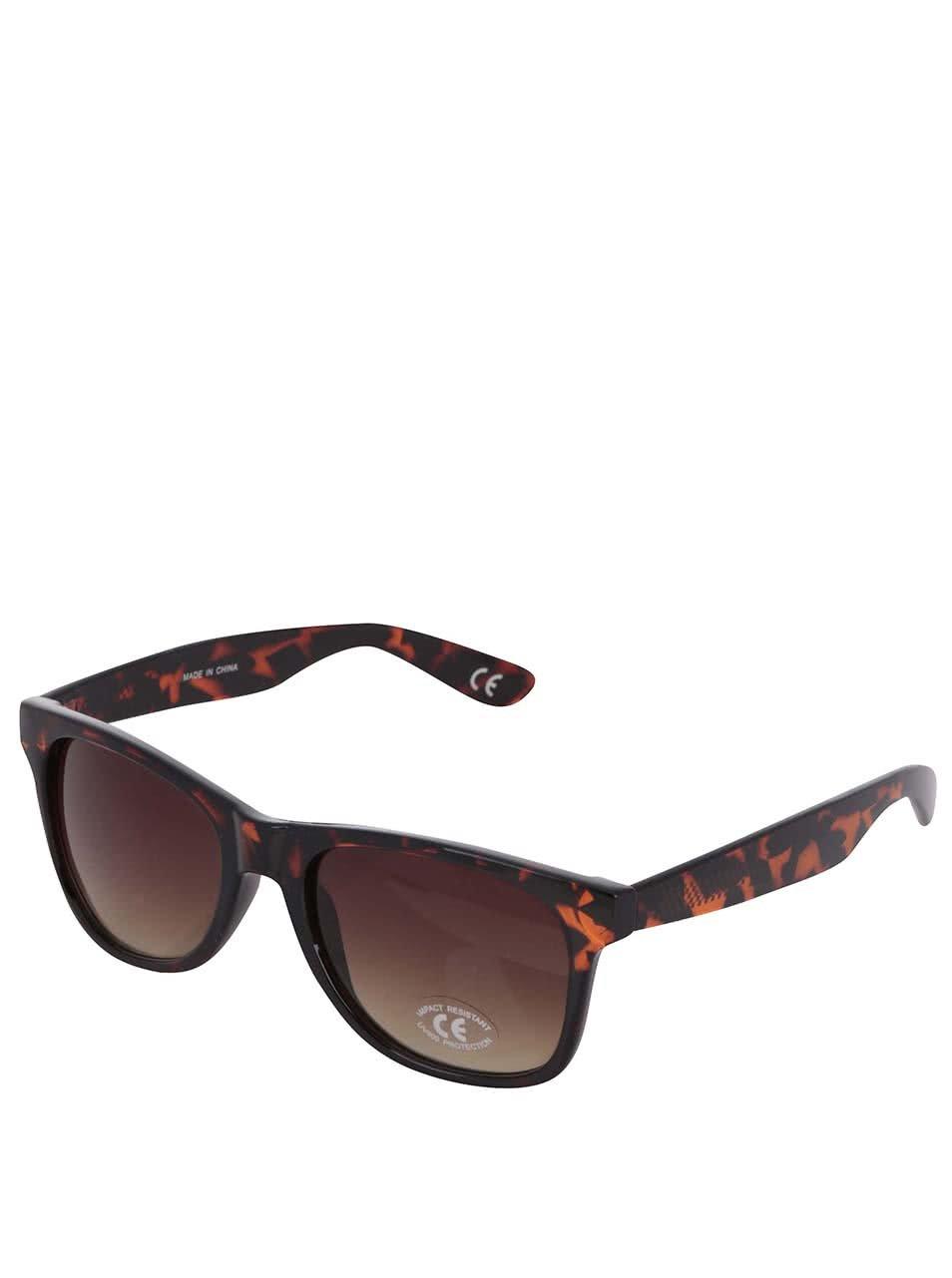 Černo-hnědé pánské sluneční brýle Vans