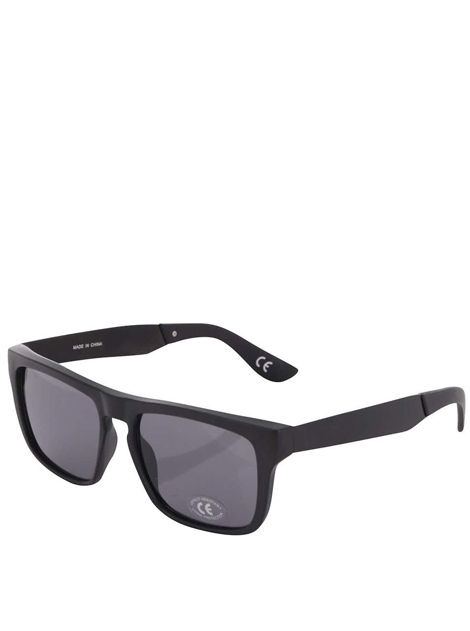 Černé pánské sluneční brýle Vans