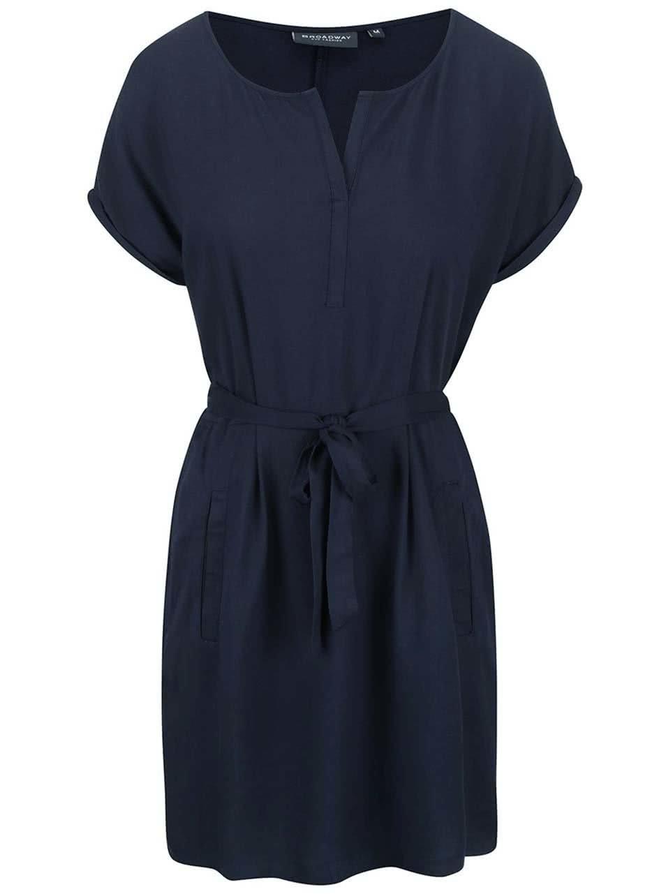 Tmavě modré šaty Broadway Gwyn