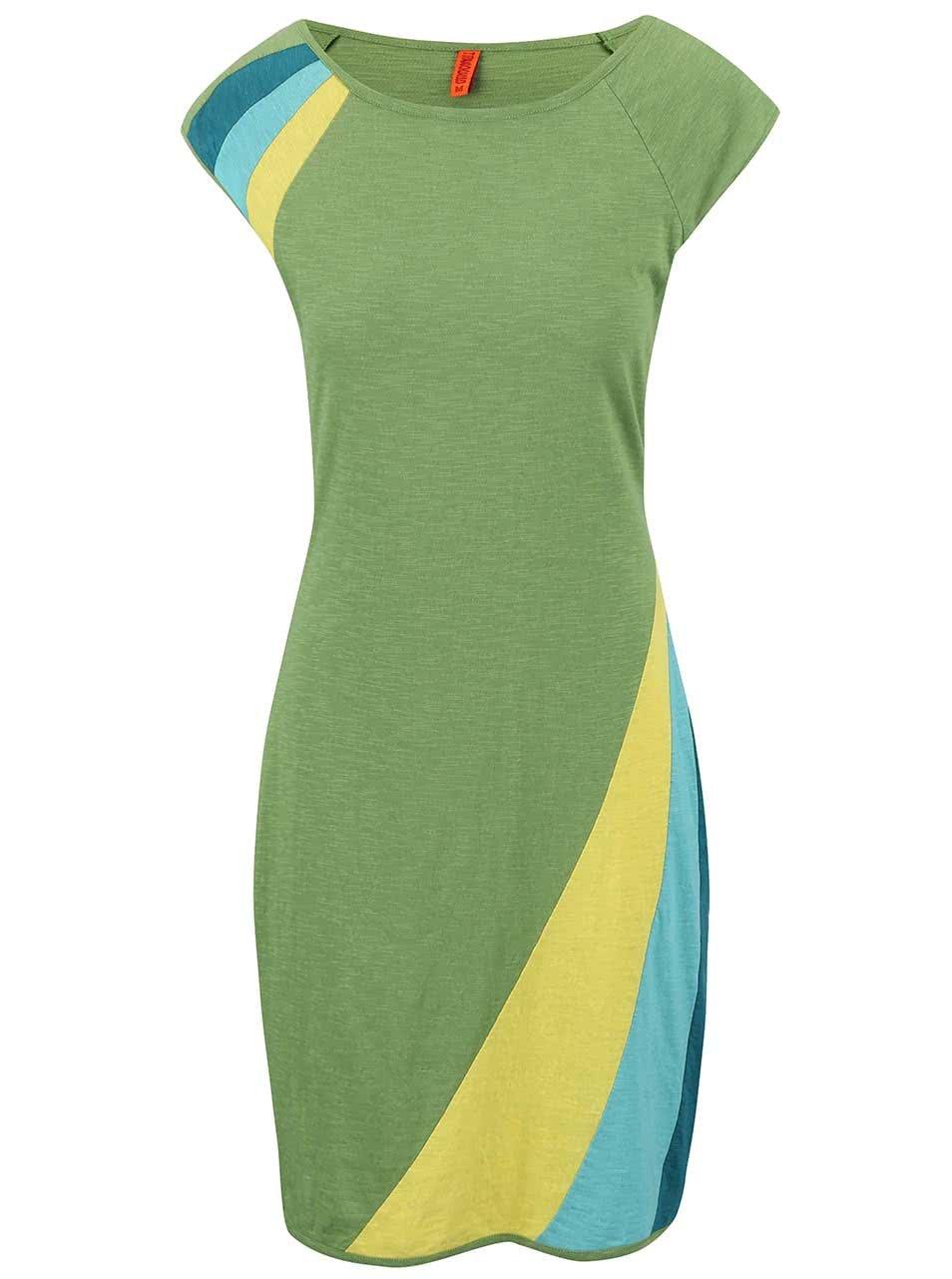 Světle zelené šaty Tranquillo June