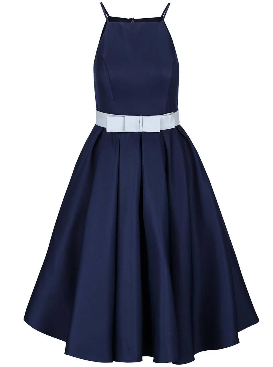 Modré šaty Chi Chi London Cassandra