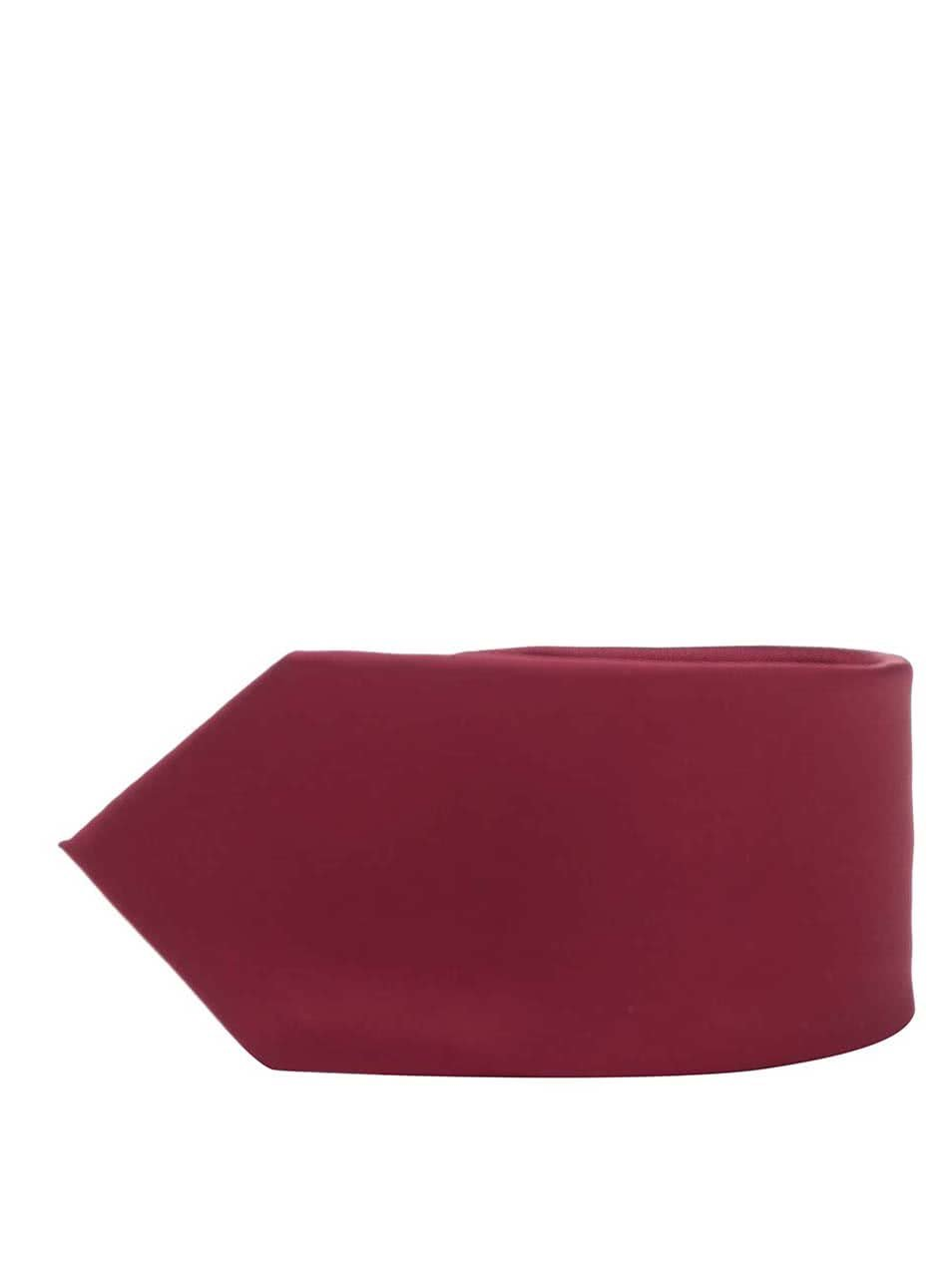 Červená slim kravata Burton Menswear London