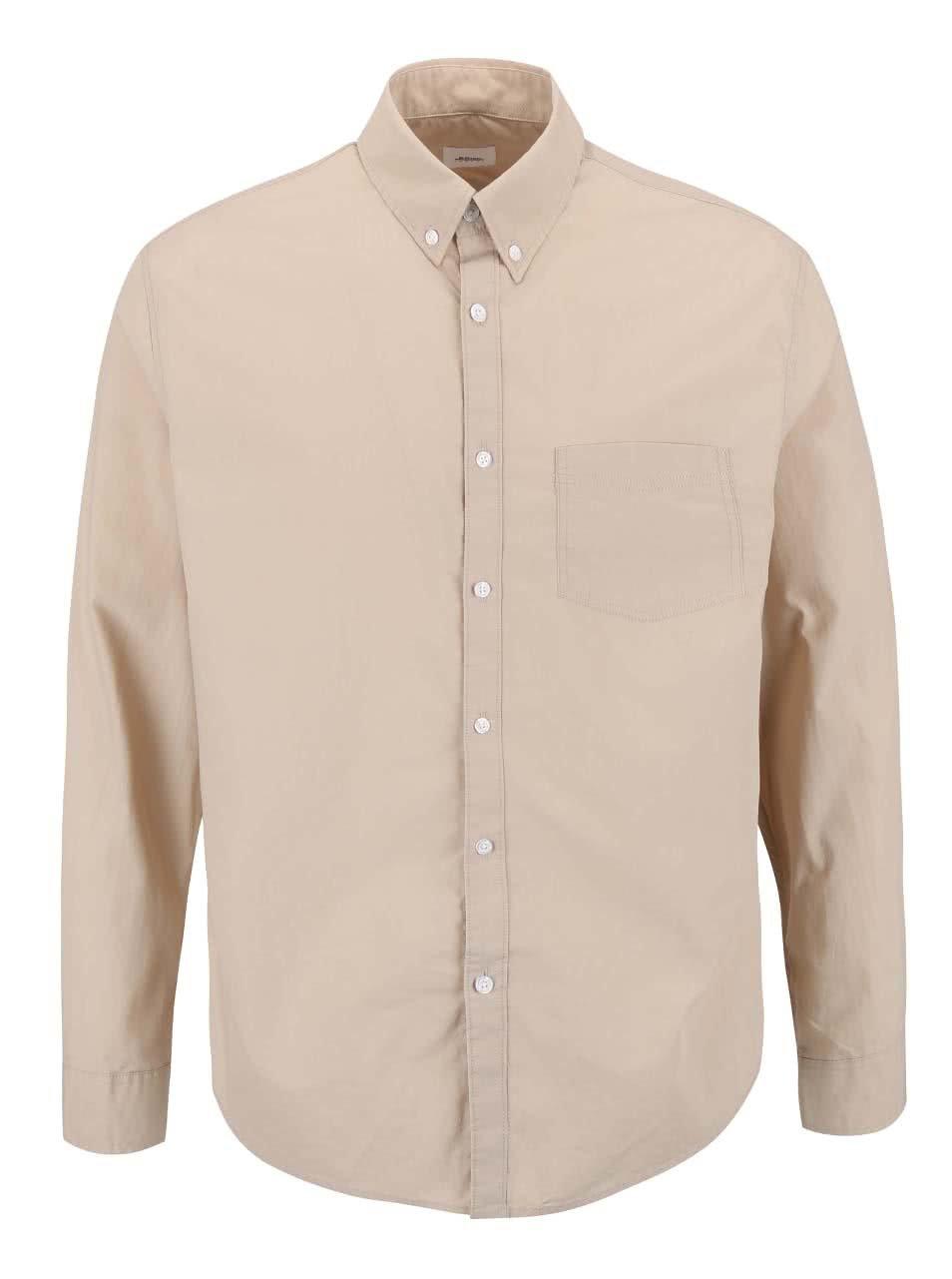 Béžová košile Burton Menswear London